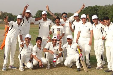 After winning Annual Cricket Tournament at PC Solutions